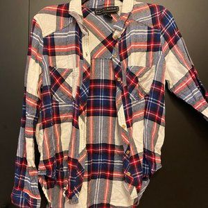 Polly & Esther plaid flannel